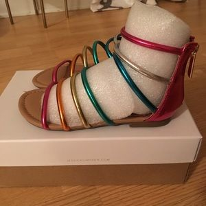"Brand new ""Jessica Simpson "" Sandals Size 11"